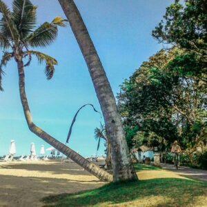 Salah satu lokasi yang paling bagus menurut saya di sepanjang Sanur Beach Walk. Terdapat kursi-kursi pantai.