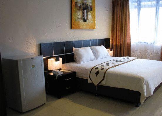 Desain kamar di Hotel Puri Chorus Yogyakarta bersih murah dan nyaman
