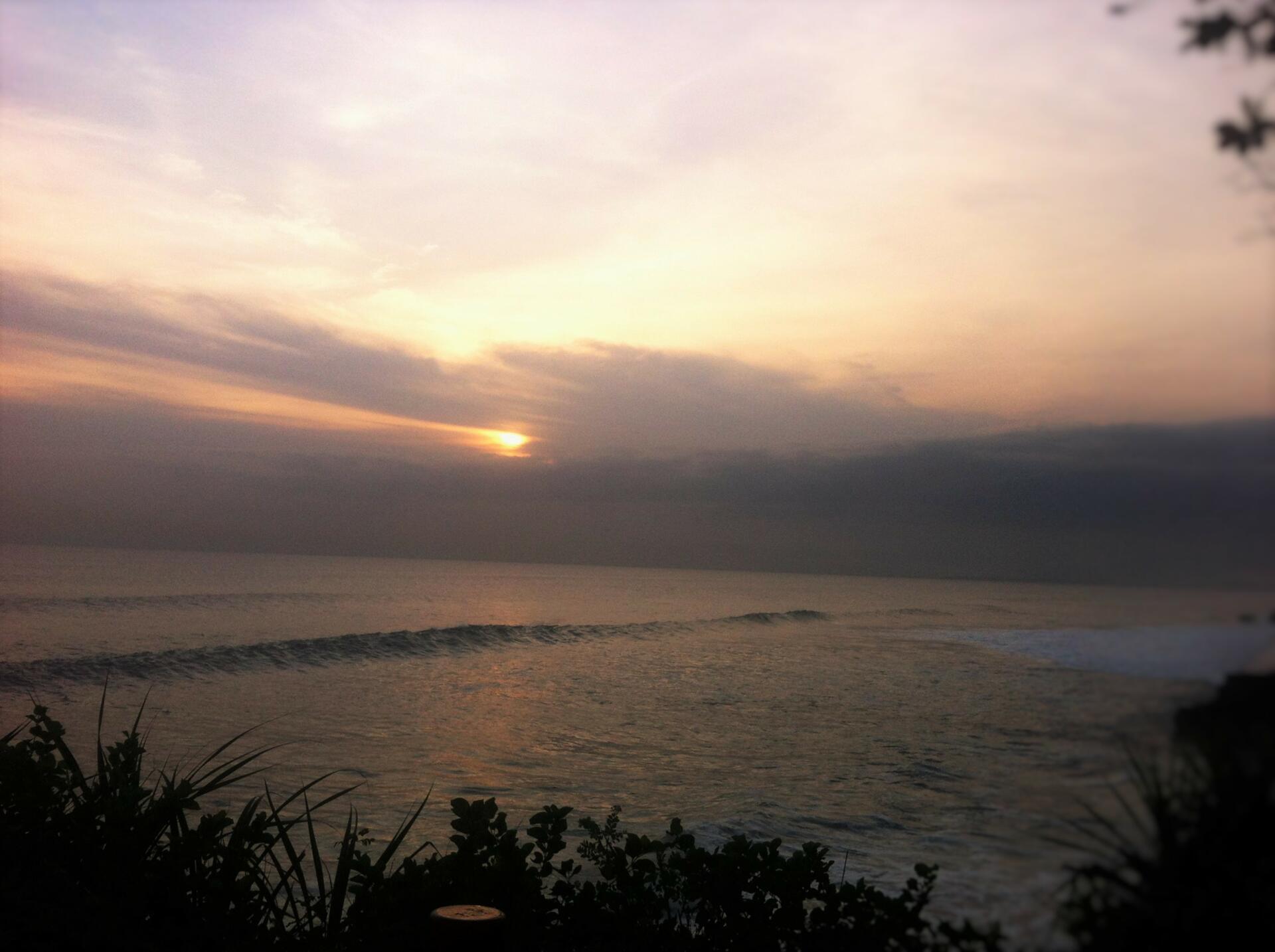 Sunset di Tanah Lot