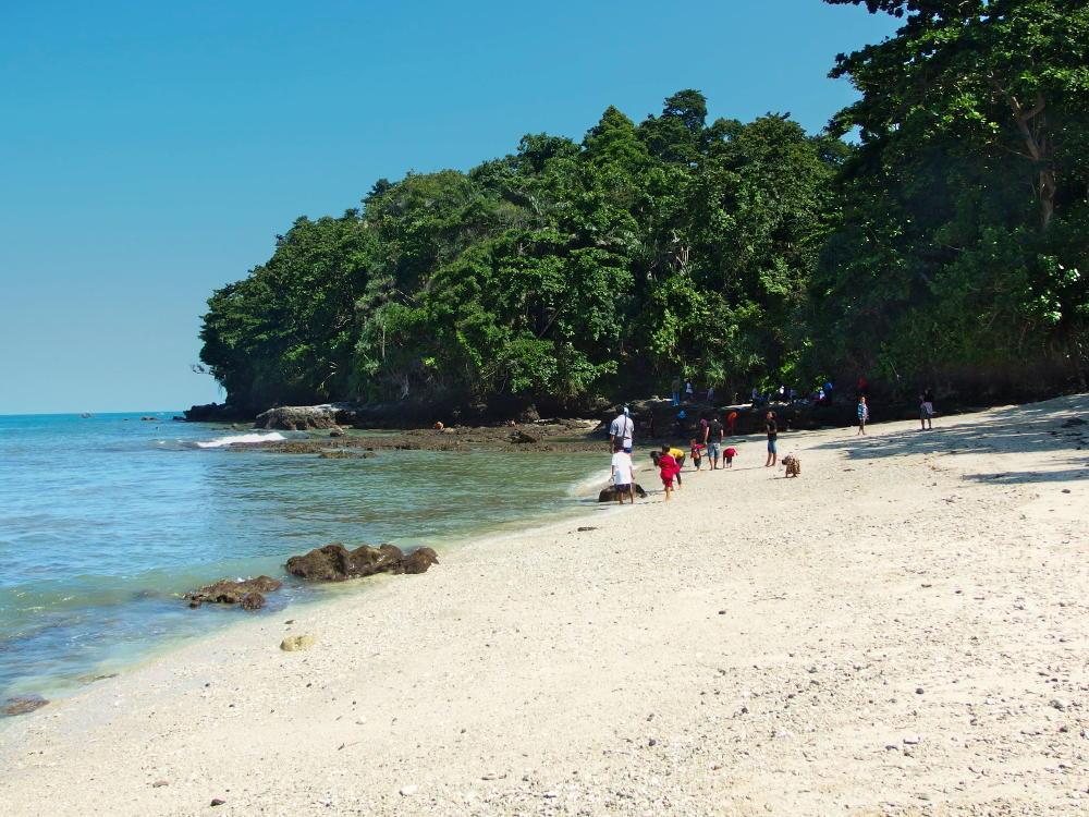 Salah satu dari 3 pantai populer di Pulau Nusa Kambangan Cilacap.