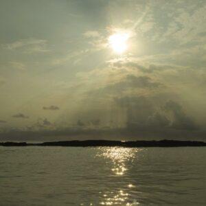 Gagal melihat sunset karena cuaca yang tidak mendukung