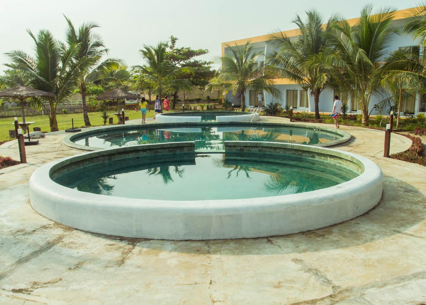 Kolam Renang Hotel Turtle Beach