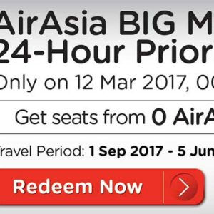 Air Asia Big Point Tiket Gratis Keliling Negara Asean