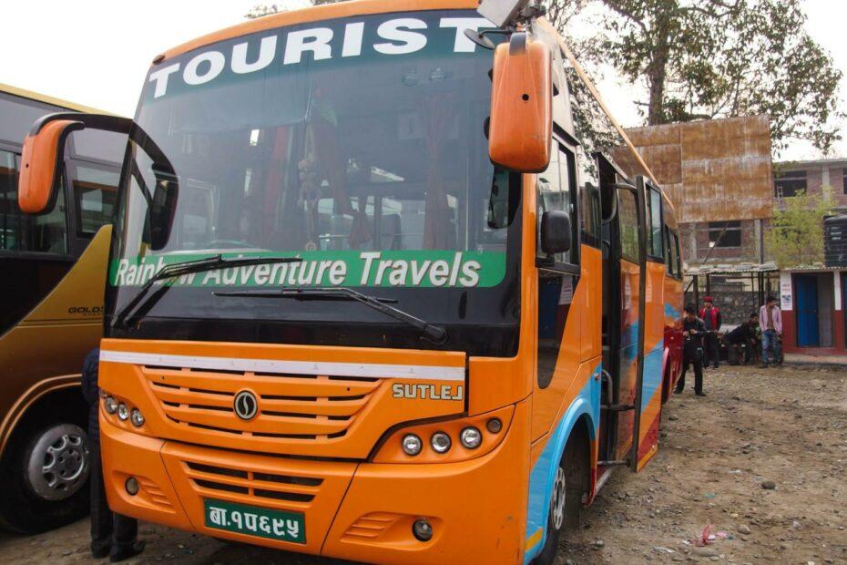 Bus ke Pokhara