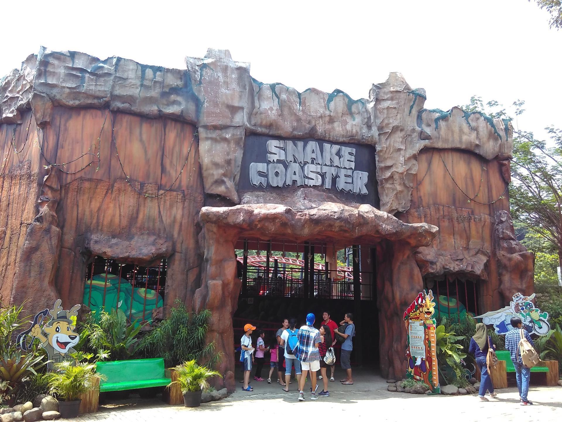 Jungleland Sentul Tiket 8 Zona dan 8+ Wahana - Rubrik Wisata